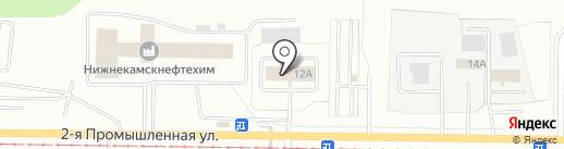 Пожарная часть №29 на карте Нижнекамска