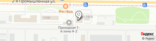 Банк Аверс на карте Нижнекамска