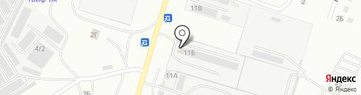 АНГОР на карте Елабуги