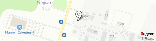 Мастер Шин на карте Елабуги