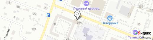 Елабужская городская прокуратура на карте Елабуги