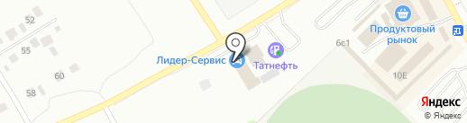 НАСКО на карте Елабуги