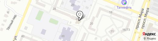 Айсылу на карте Елабуги