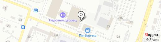 Ледовый дворец на карте Елабуги