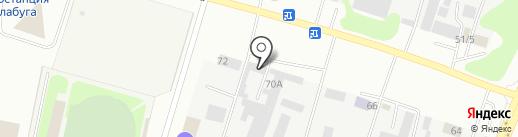 ЗТА КОМПЛЕКТ на карте Елабуги
