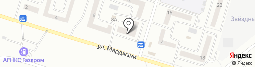 Диаз на карте Елабуги