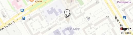 Ял на карте Елабуги