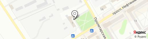 Дорожник на карте Елабуги