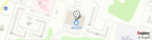 Эссен на карте Елабуги