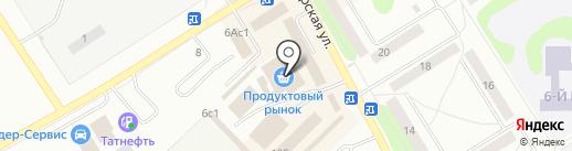 Гриль-бар на карте Елабуги