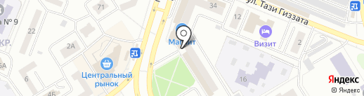 Почта банк, ПАО на карте Елабуги