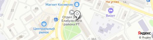Пятёрочка на карте Елабуги