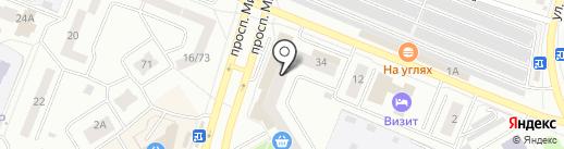 ЕДИНЫЙ РАСЧЁТНО-КАССОВЫЙ ЦЕНТР-ЕЛАБУГА на карте Елабуги