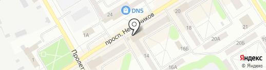 ЗОЛОТНИКЪ на карте Елабуги