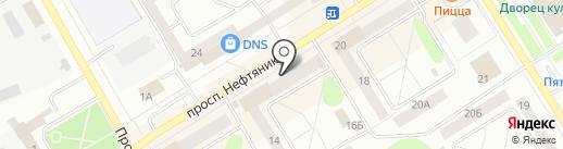 Василиса на карте Елабуги