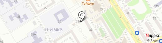 Мастерская по ремонту обуви на карте Елабуги