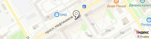 Магазин джинсовой одежды на карте Елабуги
