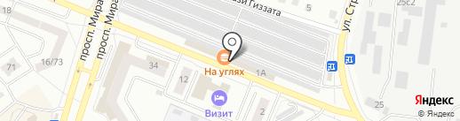 Магазин автозапчастей на карте Елабуги