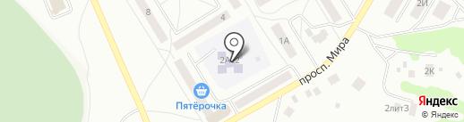 Детский сад №22 на карте Елабуги