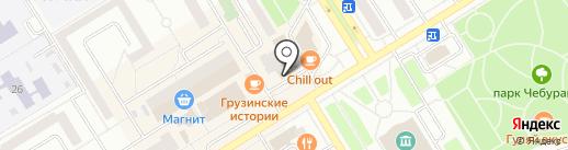 Елабужская мебельная фабрика на карте Елабуги