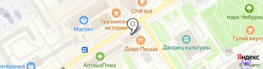 Казанская ярмарка на карте Елабуги