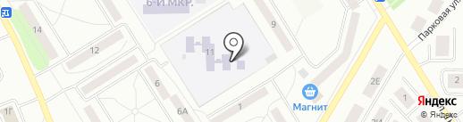 Детский сад №24, Росинка на карте Елабуги
