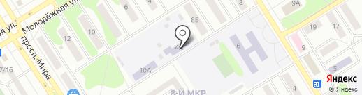Детский сад №18 на карте Елабуги
