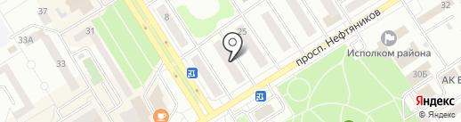 Вариант на карте Елабуги