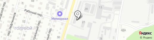 Автосервис на карте Елабуги