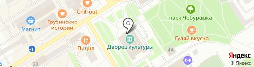 Городской дворец культуры на карте Елабуги
