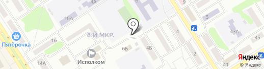 Центр оформления документов на карте Елабуги
