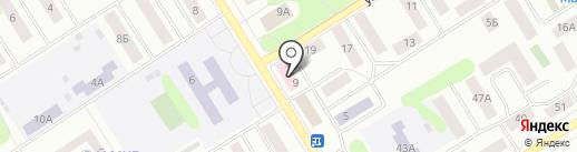 АСКО на карте Елабуги