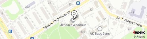 Территориальная избирательная комиссия г. Елабуги на карте Елабуги
