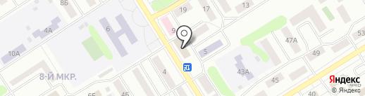 Новоселье на карте Елабуги