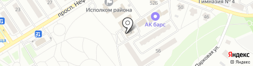 Отделение ФСБ в г. Елабуге на карте Елабуги