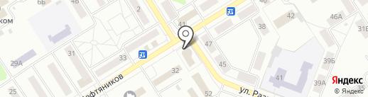 Банкомат, Газпромбанк на карте Елабуги