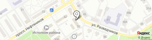 АВА-Финанс на карте Елабуги