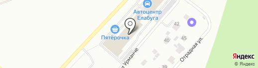 КАРАТ на карте Елабуги