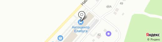 АВТОЦЕНТР ЕЛАБУГА на карте Елабуги