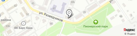 Диалог на карте Елабуги