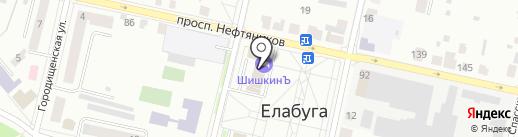 Nika на карте Елабуги