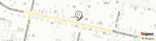 Юсуп на карте Елабуги