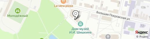 Музей-мастерская декоративно-прикладного искусства на карте Елабуги