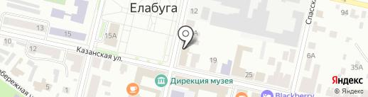 Умелица на карте Елабуги