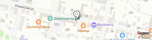 Музей истории города на карте Елабуги