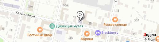 От А до Я на карте Елабуги