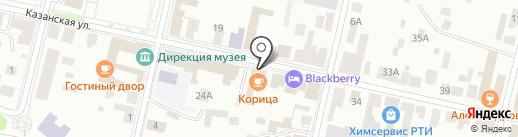 РусАлка на карте Елабуги