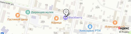 Банкомат, Россельхозбанк на карте Елабуги