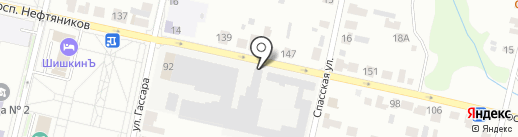 Магазин разливных напитков на карте Елабуги