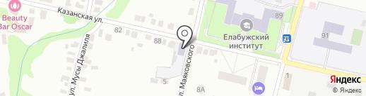 Детский сад №3 на карте Елабуги